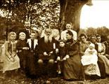 Leon Tolstoi y familiares