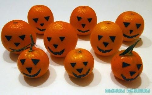 Frutas terrorificas para Halloween