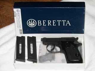 Blog de vendaarmasdefogoimpactoarmas : Armas de Fogo, Bereta 21 bobcat calibre 6.35