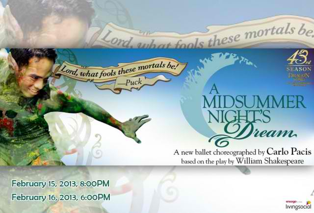 Midsummer night's dream ballet phils