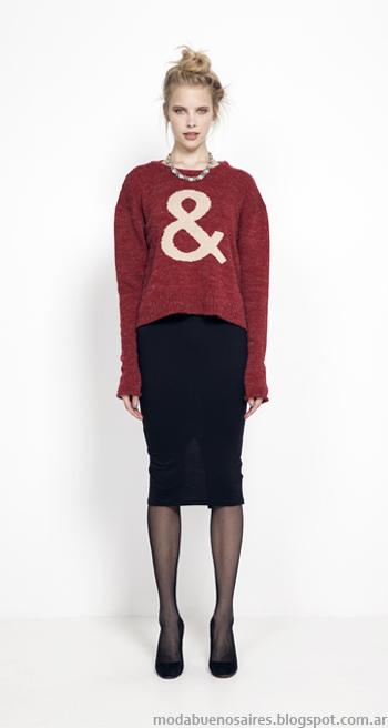 Sweaters otoño invierno 2014 moda Julien.