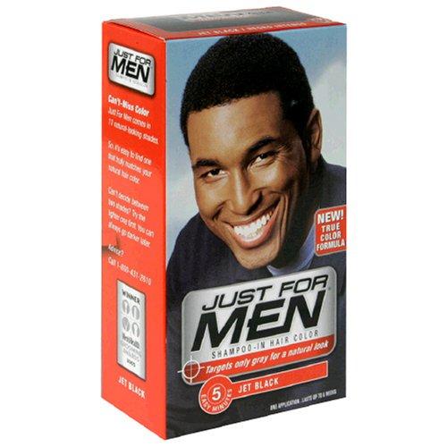black hair dye men