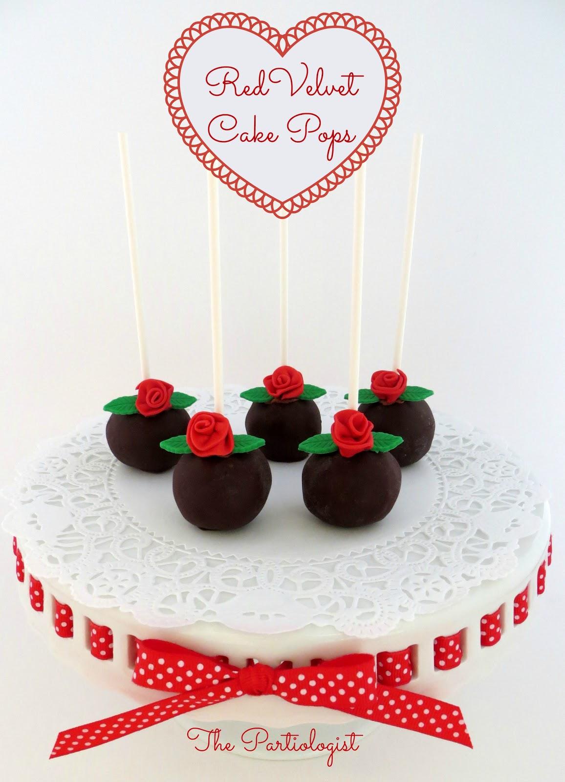 The Partiologist Red Velvet Cake Pops Amp Truffles