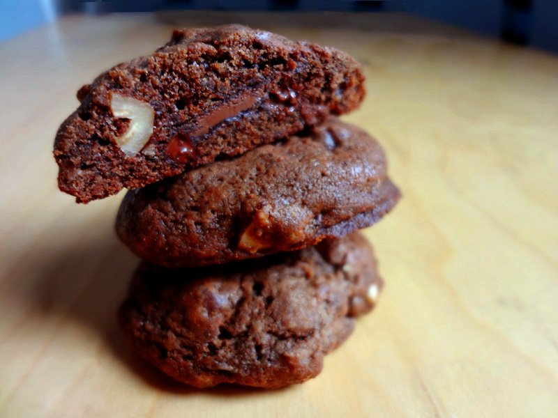 Cantaloupe Alone: Christmas Cookie no 2: Nutella Dream Cookies