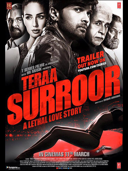 Poster Of Teraa Surroor 2 (2016) Hindi DVDScr Full Movie Download