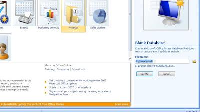 Capture - Cara Koneksi Database Office Access Ke Visual Basic 6.0 (Vb)