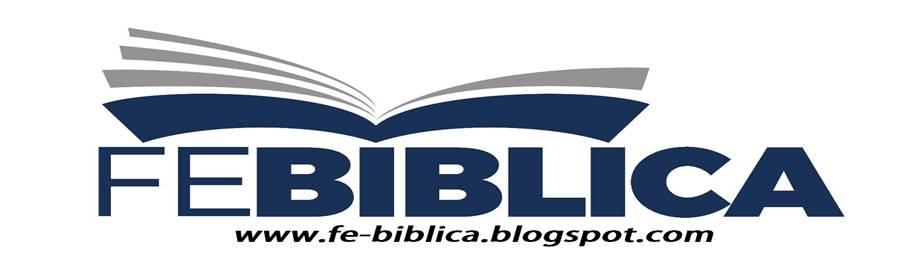 FE BÍBLICA