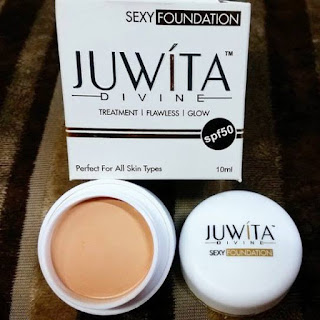 JUWITA DIVINE SEXY FOUNDATION ORIGINAL