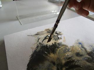 pinceau aquarelle