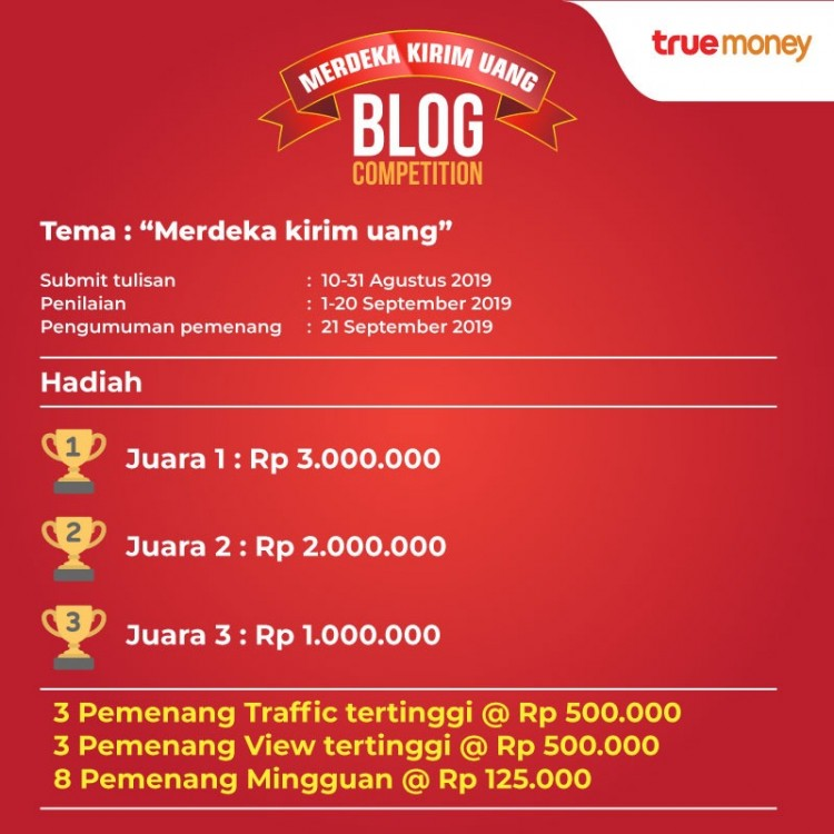 TrueMoney Blog Competition
