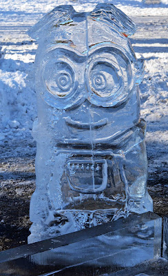Ice Carving Minion