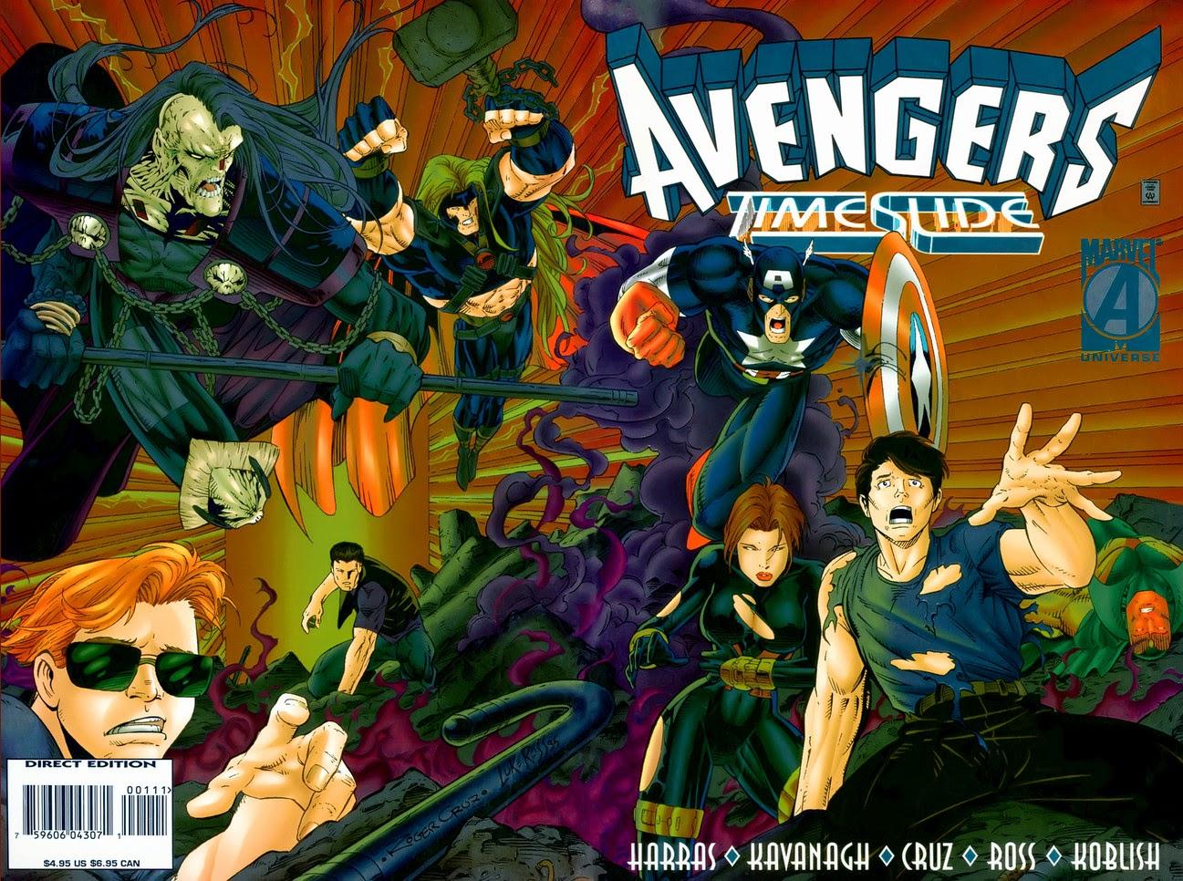 Avengers Timeslide Cover