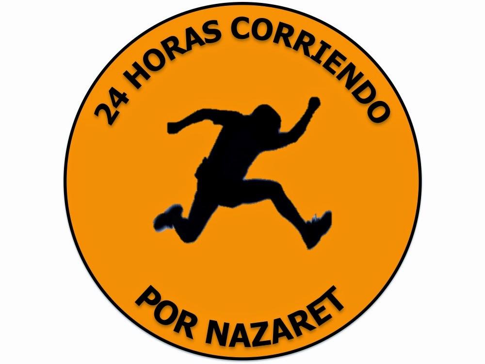 24 horas corriendo por Nazaret