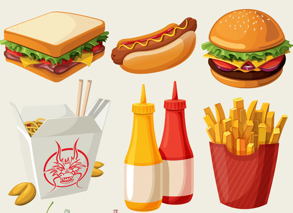 animated food pictures