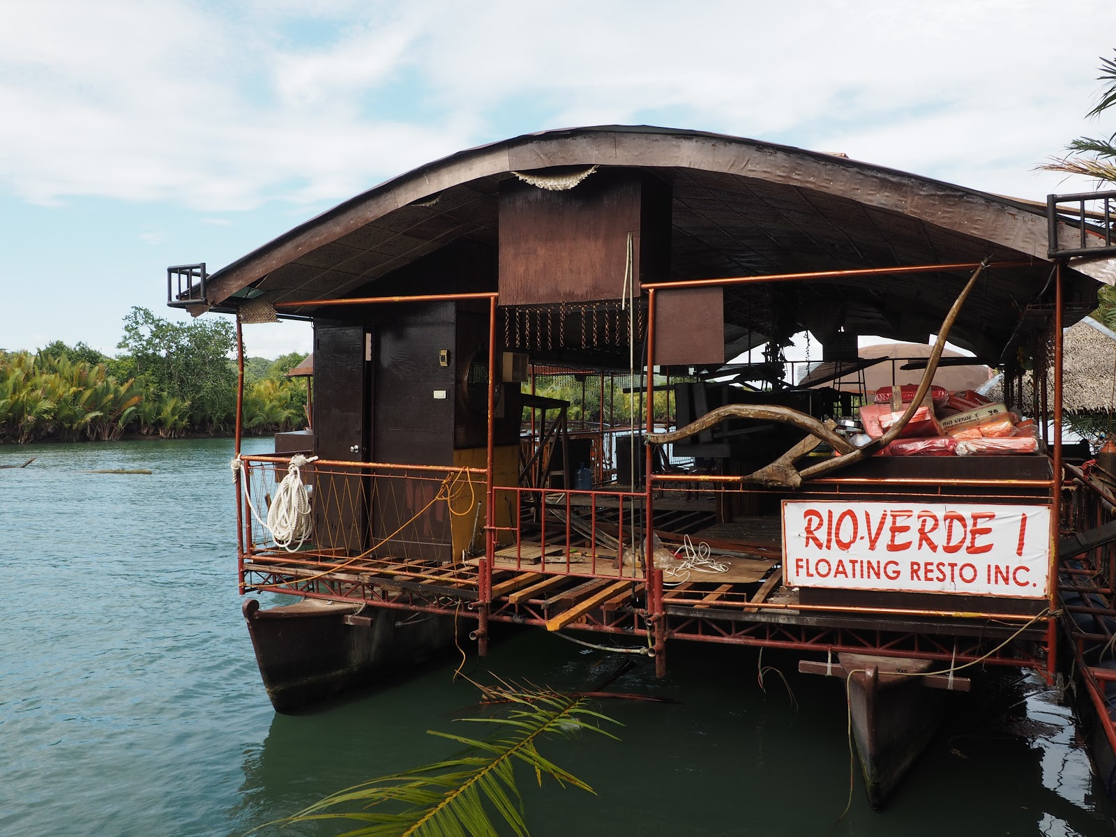 Rioverde Floating Restauant, Bohol