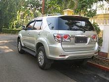 Rental Mobil Fortuner di Surabaya