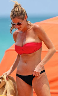 Erin Andrews Red Bikini Miami