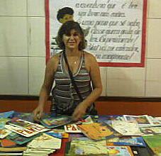 Bibliotecária Elizete