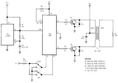 Build a High Voltage Inverter Circuit Diagram