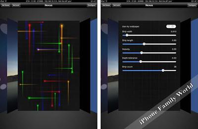 Nexus LivePaper 1.1.0-1 - iPhone family world