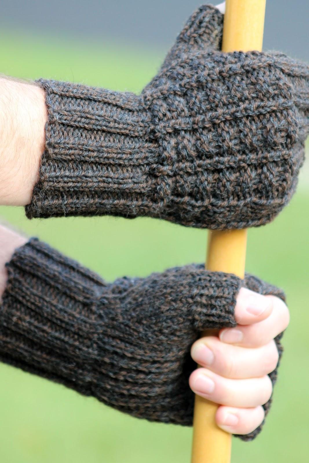 Fingerless gloves darn yarn - Sailor S Rib Fingerless Gloves
