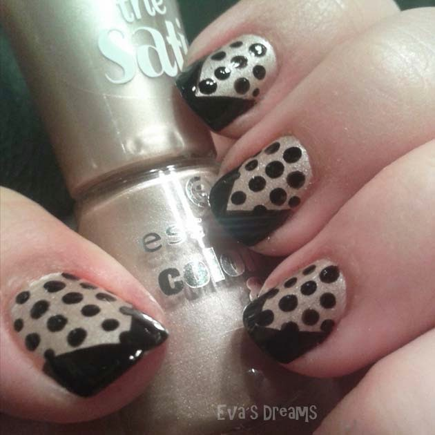 Nails of the week: Nail art - Punkte!
