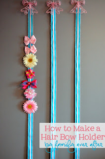 Hairbow Holder tutorial!!