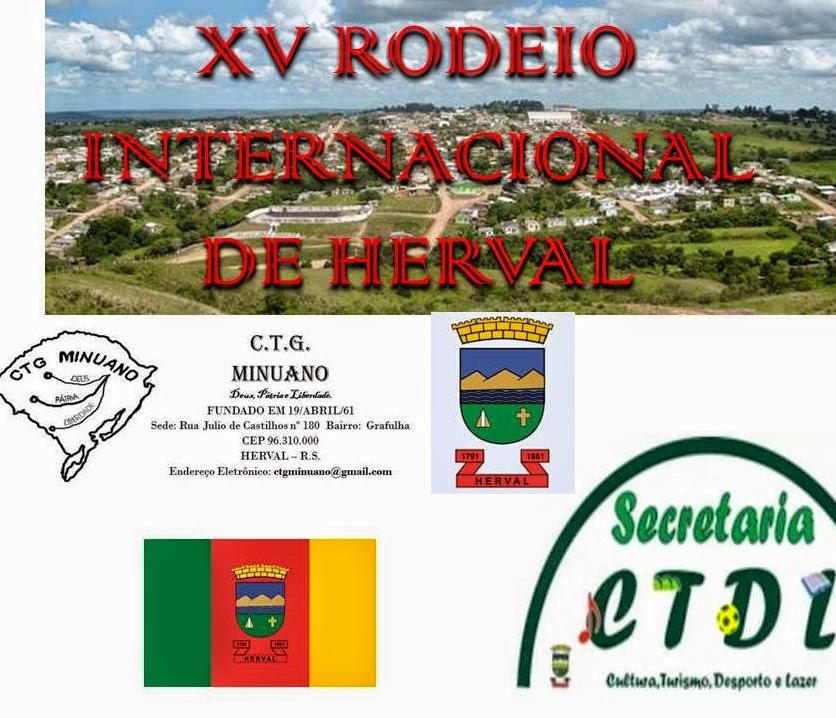 ENQUETE SOBRE O XV RODEIO INTERNACIONAL HERVAL, 2015.