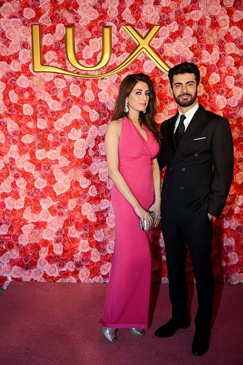 Fawad Khan and Iman Ali hosted a star-studded launch for Lux