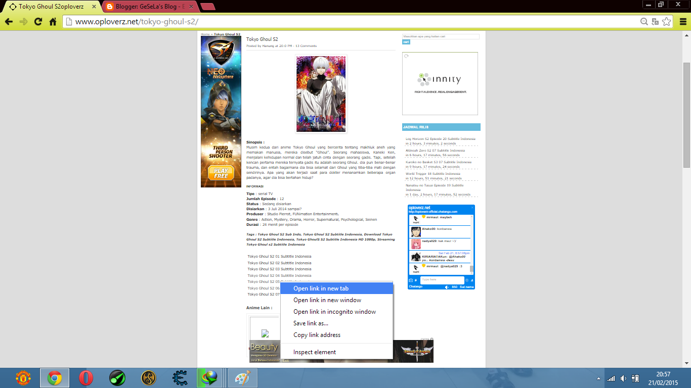 cara download anime oploverz