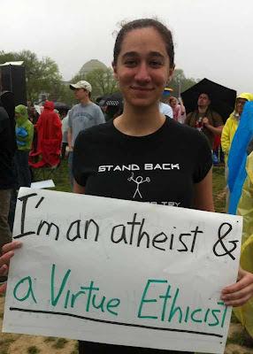 """Leah Libresco antes: """"sou uma ateia""""  procurava mas não achava argumento contra a Moral"""