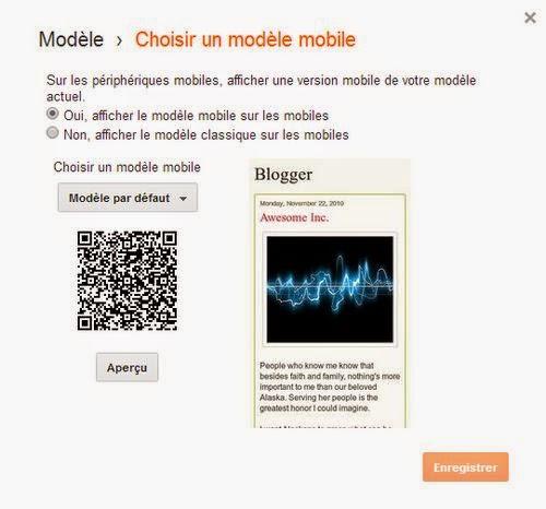 Comment ajouter la version Mobile de votre Blog
