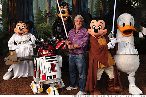 Lucasfilm sells Star Wars to Disney