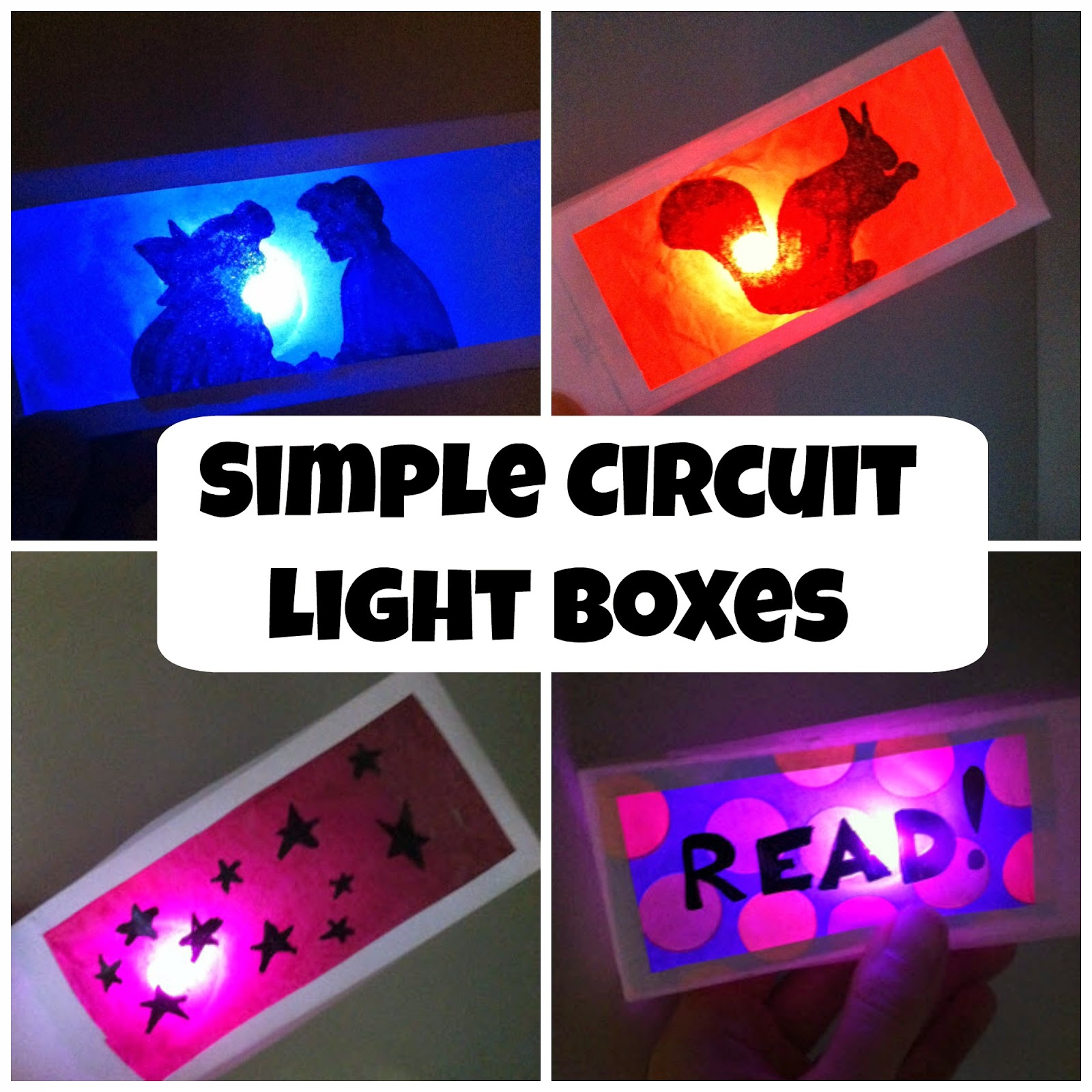 Teen Blog Frvpld Make A Simple Circuit Light Box During Tech How To Week