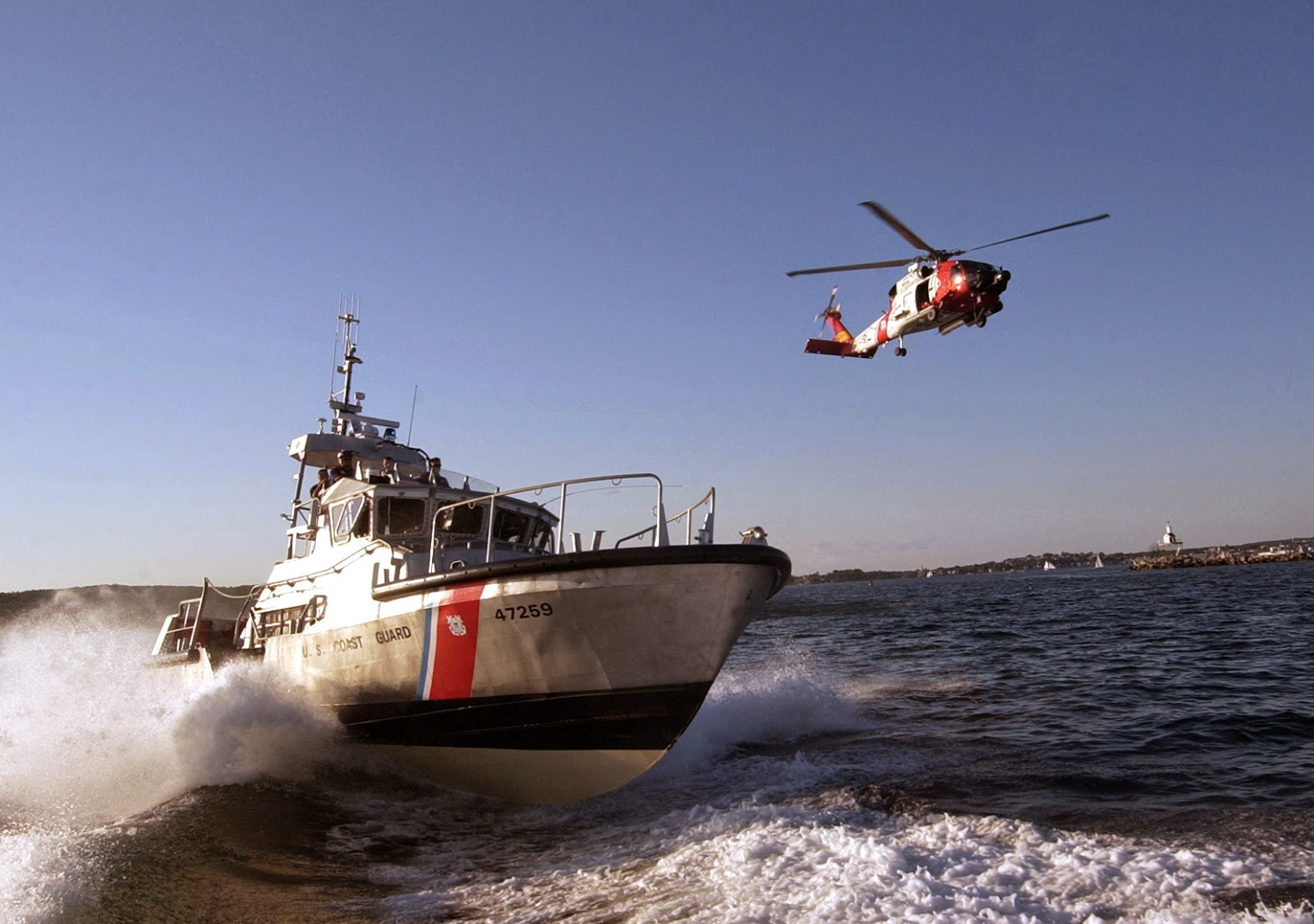 Coast Guard and use of sonar security
