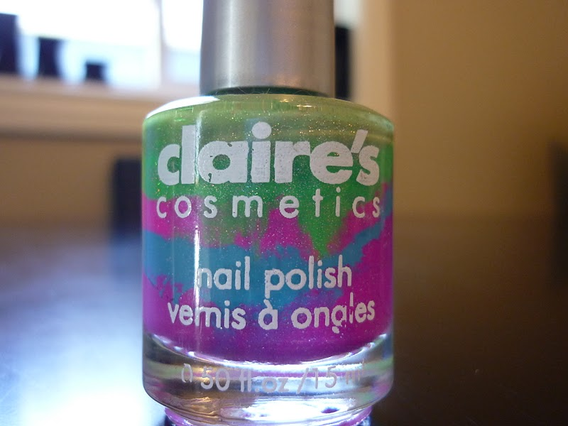 It\'s a girl thing: NOTD A strange little fellow... Claire\'s nail ...