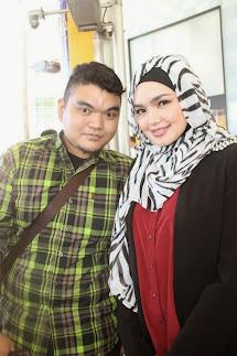 With Siti Nurhaliza