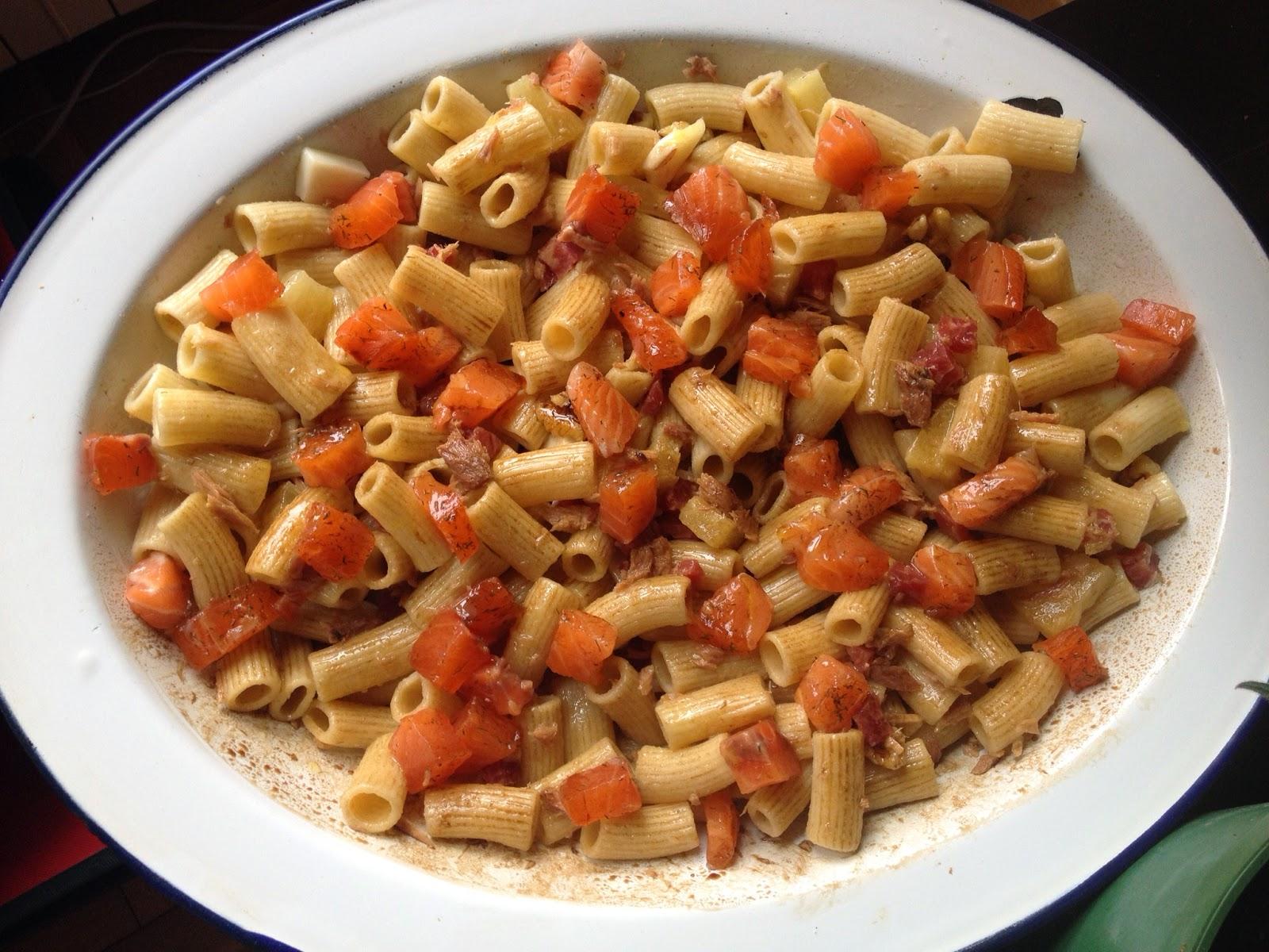 Cocina con rachel ensalada de macarrones integrales con - Racholas cocina ...