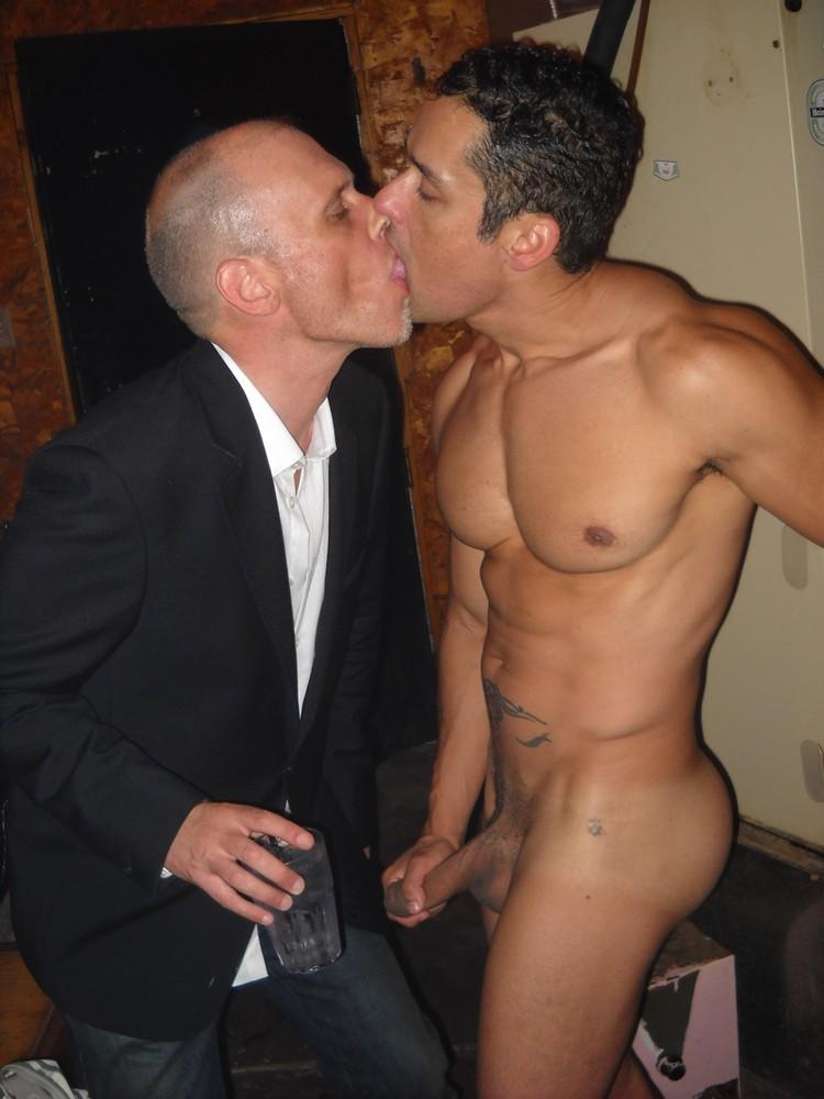 Gay naked kiss