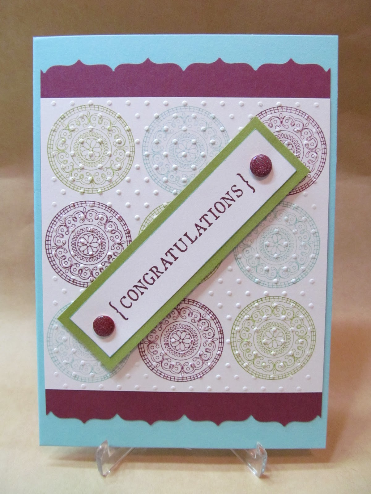 Handmade Congratulations Cards