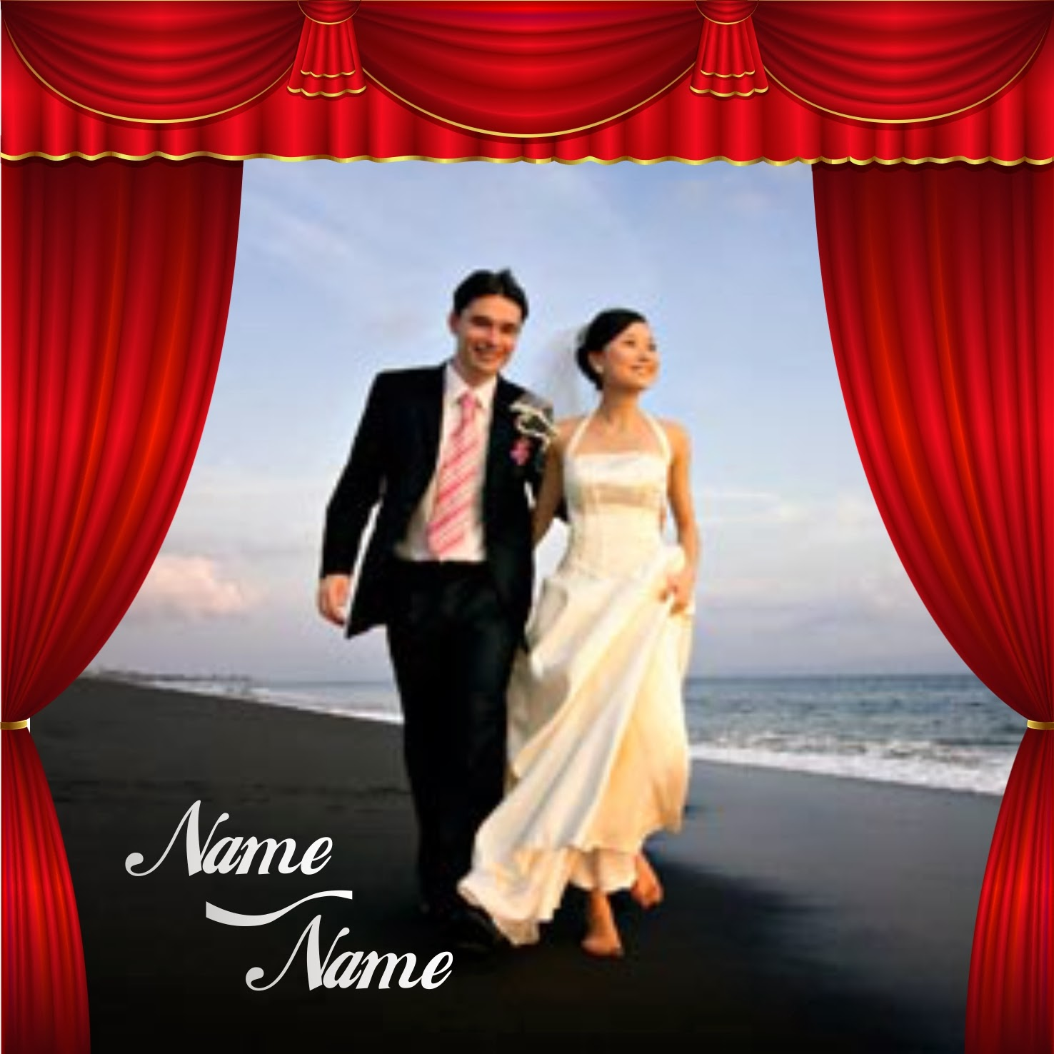 template undangan pernikahan cdr file gratis download