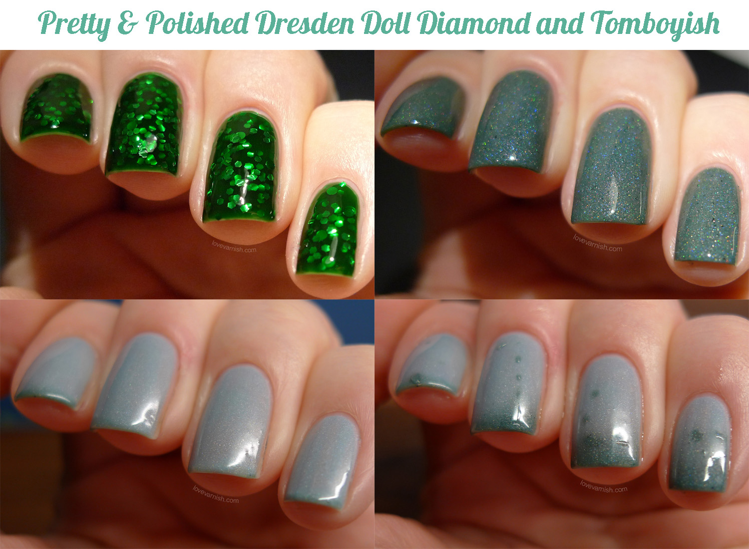 Pretty & Polished Dresden Doll Diamond and Tomboyish