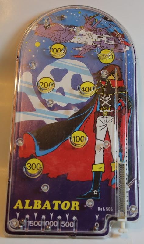 Albator 1978,  les figurines PVC, 1978 01-05-2011+620