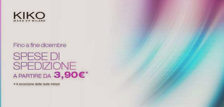 KIKO - Spedizioni da 3,90€ fino a fine dicembre