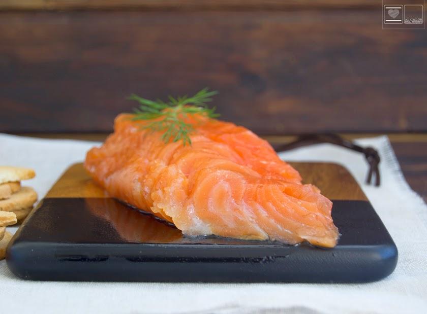 salmón marinado clásico