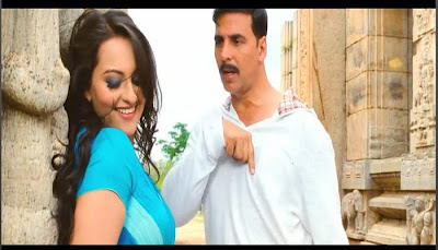 Sonakshi Sinha Wallpaper Photos in Rowdy Rathore