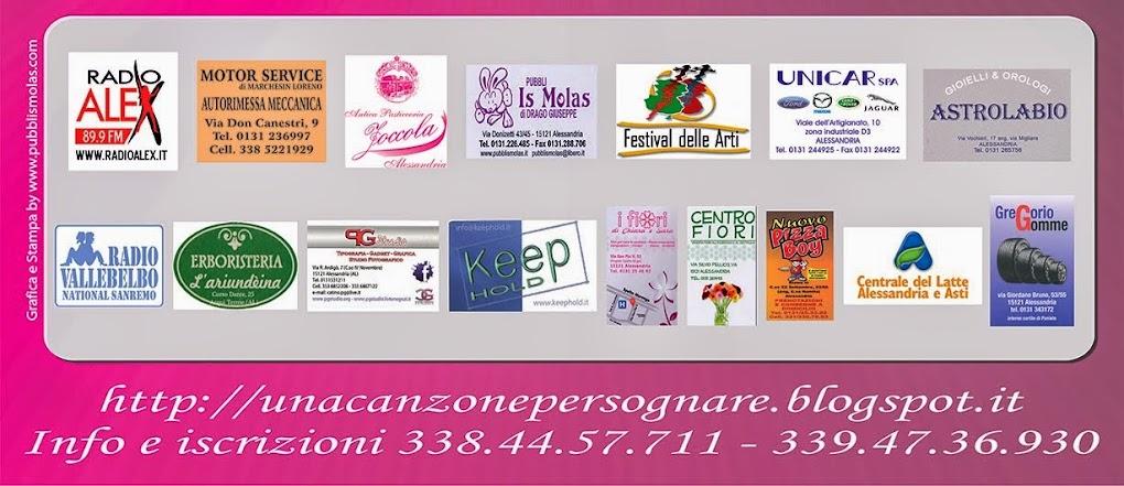 SPONSOR UFFICIALI UNA CANZONE PER SOGNARE EDIZIONE 2014