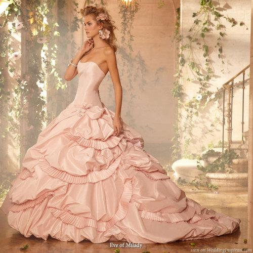 Vestidos De Noiva Rosa Pink E Salm 227 O Noiva Com Classe