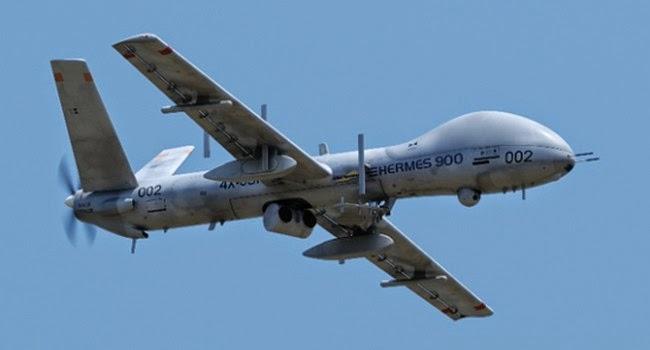 Drones Israelíes en Brasil 2014