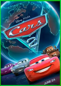 Cars 2   3gp/Mp4/DVDRip Latino HD Mega